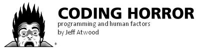 CodingHorror